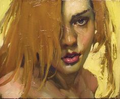 Malcolm Liepke Oil on Canvas Painting -- Gorgeous style!