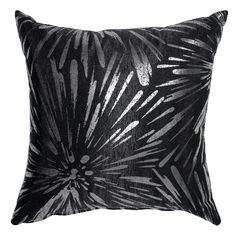 Sunburst Accent Throw Pillow