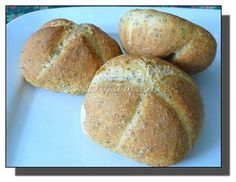 Makové raženky s prefermentem Bread, Food, Brot, Essen, Baking, Meals, Breads, Buns, Yemek