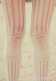 tights for winter wedding