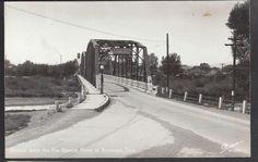 RP Alamosa Colorado Rio Grande River Bridge 1940s Sanborn Postcard w 1698 | eBay