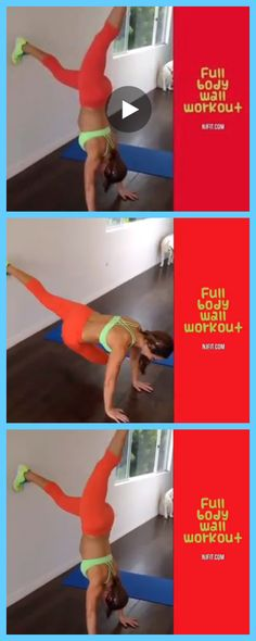 Watch the video on how to use the wall for a WHOLE BODY WORKOUT! GO here https://www.facebook.com/video.php?v=802137886504192 or click the image for more!