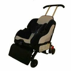 Lilly Gold 5-n-1 Sit'n'Stroll – Nautical Blue Elite (WITH FREE MESH STROLLER BAG AND ZEBRA NEATSEAT)