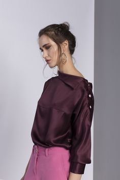 New collection #GirlBoss | Sho off your skills, not your heels | shop www.theITem.com Girl Boss, Ruffle Blouse, Heels, Model, Shopping, Collection, Tops, Fashion, Heel