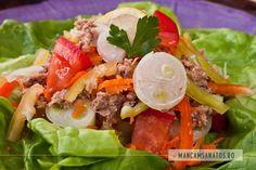salata-tonmaruntit-finalok Tacos, Mexican, Ethnic Recipes, Food, Essen, Meals, Yemek, Mexicans, Eten