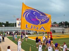 University of North Alabama Football. My favorite school (besides my crimson tide of course! College Goals, College Life, Tennessee, Florence Alabama, Lion Images, Roaring Lion, Sports Fanatics, Sweet Home Alabama, University Of Alabama