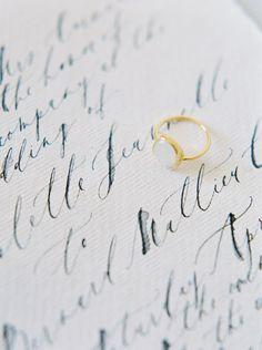 Modern & chic bridal ideas via Magnolia Rouge
