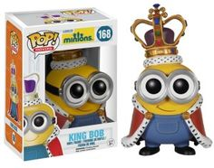 Funko released King Bob pop vinyl from the upcoming Minions movie