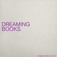 Dreaming Books.