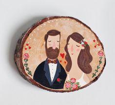 Wood Slice/Wooden slices/Wedding wooden slice/Wedding от theroomba