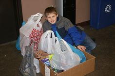 10-year-old Thomas Johnson of St. Charles #MO asked his friends to bring food donations to his birthday party instead of gifts. Thomas donated the food to St. Louis Area Foodbank! #kids