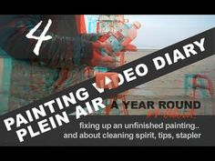 4 Video diary tips by Roos Schuring Art Courses, Great Videos, Painting Tips, Art School, Art Tutorials, Schools, Sky, Artists, Beach
