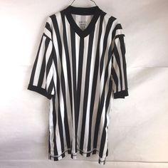 Smitty Basketball Referee Shirt XL ComfortTech V Neck #Smitty