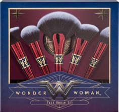 Luxie Wonder Woman Face Brush Set Pulls Out All The Stops – Musings of a Muse
