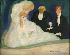 Hermen Anglada Camarasa (Espagne, 1871-1959) – La Loge (ca 1901-1902) Barcelone, Museu Nacional d'Art de Catalunya