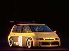 krásně inženýrství • Renault Espace F1 je úžasně navržený ...