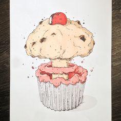 Atomic Cupcake | CranioDsgn