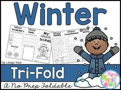 Winter ActivitiesCLICK BELOW TO CHECK OUT MY GROWING BUNDLE OF TRIFOLDS.  THERE ARE OVER 90 TOPICS!CHECK OUT THE MONEY SAVING GROWING BUNDLECLICK BELOW TO CHECK OUT OTHER TRI-FOLDSNEW YEARS TRI-FOLDPENGUINS TRI-FOLDTri-Folds Can Be Used For Literacy Centers Social Studies Mini Lesson Small Groups Homework Partner Work Research  Individual Work Group Work Tri-Fold Skills Included Vocabulary Writing Reading Passage Comprehension Fluency Art