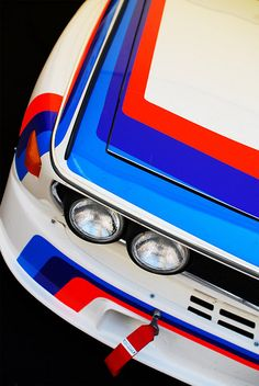 BMW white red blue = classic fast fun and ohhhhhh so driveable!