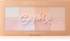 Makeup Revolution Soph X Highlighter Palette | notino.dk