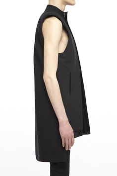 rad hourani CH601BKC : UNISEX LAYERED PANEL VEST Rad Hourani, The Future Is Now, Male Fashion, Men's Style, Catwalk, Hot Guys, Fashion Inspiration, Cool Outfits, Editorial
