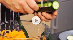 Tagliatelles de carottes - Recette vidéo - Gourmand