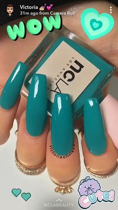 161 Best NAILS images in 2019 | Acrylic Nails, Pretty nails, Cute nails