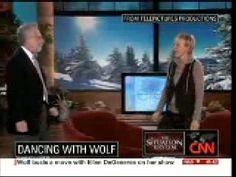Wolf Blitzer dancing on the Ellen Degeneres Show