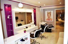 Godot styling chairs/ Godot/Lady backwash. Salon Ideas from Ayala salon furniture. Modern salon design. #Salonideas #Saloninspirations