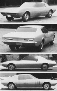 Chevrolet Camaro Mock-up (Project XP-836 nicknamed Panther) , 1964