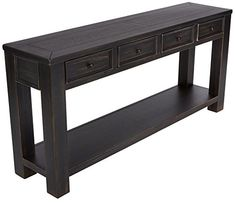 Looking for Signature Design Ashley - Gavelston Console Table, Rubbed Black Finish ? Check out our picks for the Signature Design Ashley - Gavelston Console Table, Rubbed Black Finish from the popular stores - all in one. Diy Sofa Table, Sofa Tables, Console Tables, Table Decor Living Room, Living Room Furniture, Accent Furniture, Ashley Furniture Industries, Table Storage, Upholstered Sofa