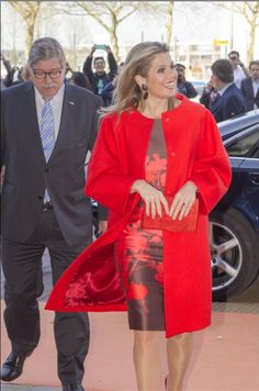 ♥•✿•QueenMaxima•✿•♥...Queen Maxima attended a seminar on the development of women's entrepreneurship in Utrecht 14/04/2015