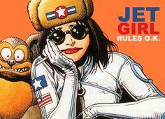 Image of Tank Girl Poster Magazine Riot Grrrl, Tank Girl Comic, Jamie Hewlett Art, Jet Girl, Comics Love, Girl Posters, Girls Rules, Gorillaz, Female Characters