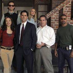 The original cast of Criminal Minds.