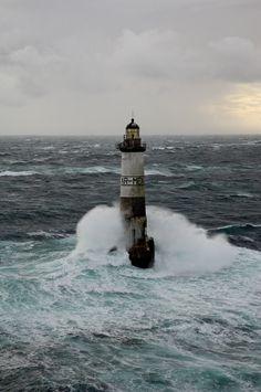 Ar-Men #lighthouse [1881 - Île de Sein, Brittany, #France] - http://dennisharper.lnf.com/