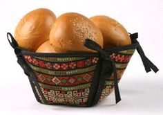 سلة خبز تطريز فلاحي