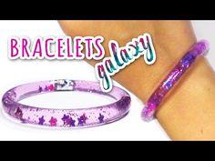 "DIY crafts: WATER BRACELETS ""Galaxy"" - Innova Crafts - YouTube"
