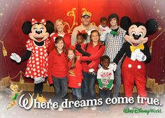 Must do - Family photo at MVMCP with our friends Mickey & Minnie! YES.....I LOVE pictures!!! #memories