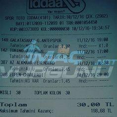 11 Aralık 2016 Kazandıran Banko Maçlar: macvurgunu.net -  #iddaa #maç #tahmin #tuttu #banko #kupon #bahis #iddaatahminleri #galatasaray #macvurgunu #mackolik