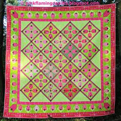 PDF Pattern for Amsterdam Quilt Tulip Quilt by PinkFlamingoQuilts