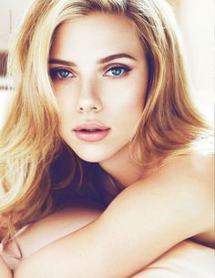 Scarlett Johanson - glowing makeup #womancrushwednesday .... clearly.
