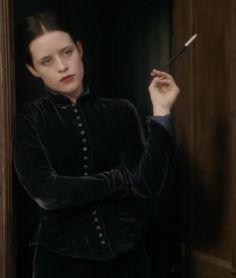Adora Belle Dearheart in Going Postal - love the clothes!   My favorite Pratchett movie!