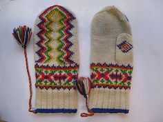Ravelry: Project Gallery for Lapin lapaset pattern by Mary Olki Knit Mittens, Knitted Gloves, Knitting Socks, Yarn Projects, Knitting Projects, Crochet Projects, Knitting Charts, Knitting Patterns, Ravelry