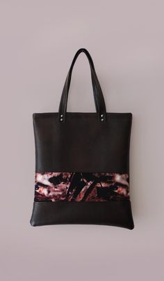 Leather Tote / Leather Shopper Bag brown / by sarahjoyonline, £39.95