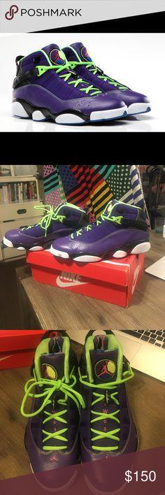 separation shoes 03e76 a8aa4 NWOT  mismatch  Air Jordan 6 rings Bel Air 100% authentic Air Jordan 6  rings