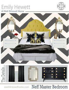 Neff Master Bedroom Design Board