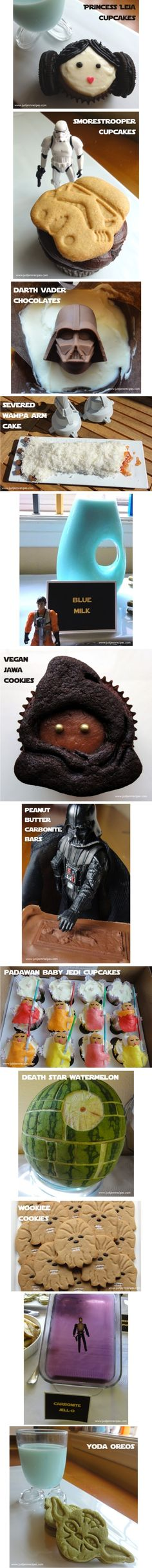 Star Wars recipes #MayTheFourthBeWithYou