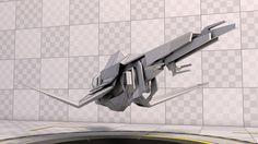 ArtStation - Spaceship, Darek Młynarczyk