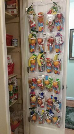 Bag of oranges $5 Bag of apples $ 3.94 Bananas $1.45 Peach fruit cups $1.74 Manderin orange fruit cup $1.74 Apple chips $4.98 Plum organic blueberry pounch $3.98 Granola bars $6 Honest fruit pounches $3 V8 juice box $2 33.89 and you have a juice, 2 servings of fruits, and a granola bar I'm also have some fridge things like cheeses and a sandwiches possibly hummus and some cut veggies or nut butter and celery skies the limit