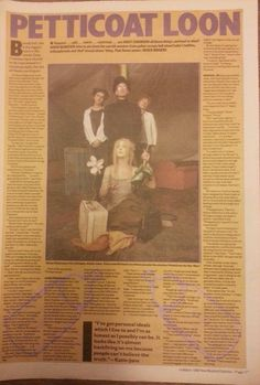 """DAISY CHAINSAW PICTURE ARTICLE ORIGINAL ADVERT 15 X 11"""" POSTER SIZE 14 MAR 1992"""